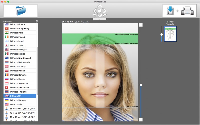 ID Photo Lite скриншот программы 1