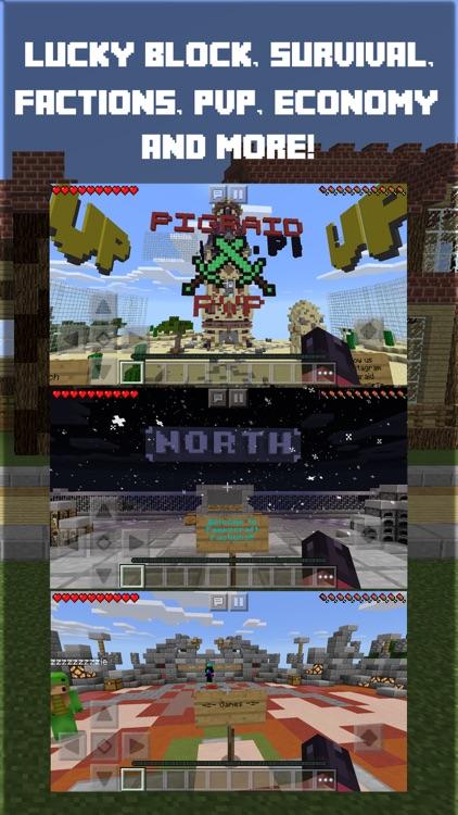 Live Servers for Minecraft PE & PC Pocket Edition