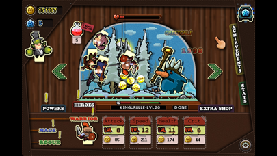 Tap Heroes - Adventure Battle QuestCaptura de pantalla de2