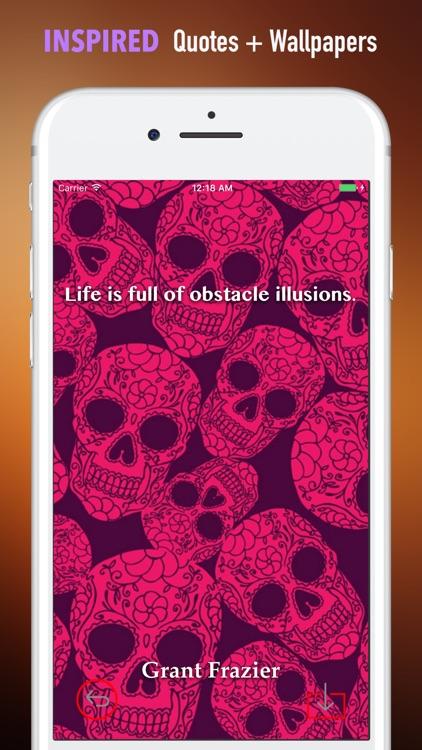 Sugar Skulls Wallpapers HD|Quotes,Art Pictures screenshot-4