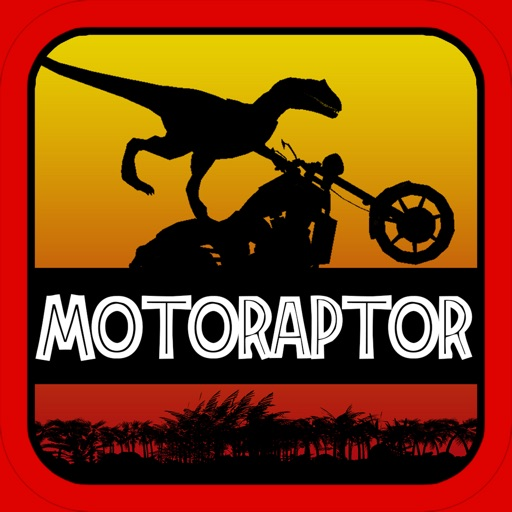 MotoRaptor - Velociraptor Motorcycle Jurassic Run