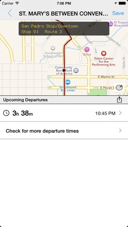 Transit Tracker - San Antonio (VIA)