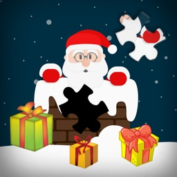 Jigsaw Secrets Christmas Santa Claus Puzzle Game