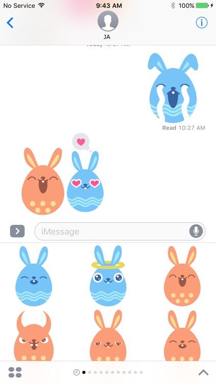 Rabbit Animation Sticker screenshot-0