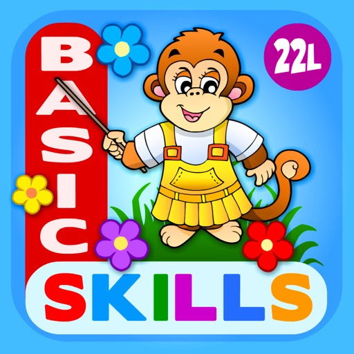 Abby Monkey Basic Skills Pre K icon