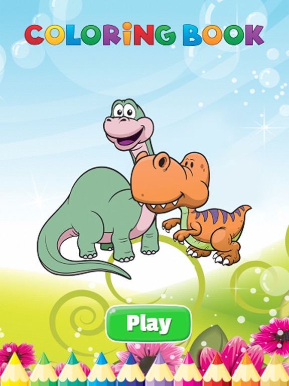 68 Dinosaur Coloring Book Apps Picture HD