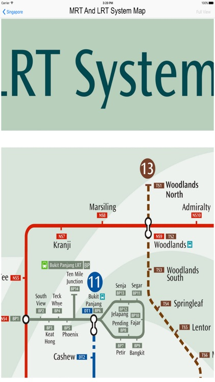 Singapore MRT & LRT Maps screenshot-3
