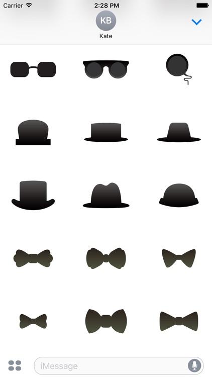 Gentlemen Stickers screenshot-3
