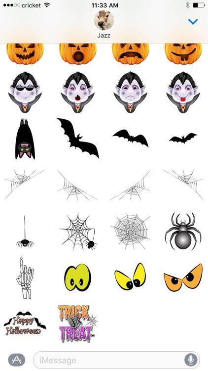 Halloween Stickers from Halloween Solitaire screenshot-3