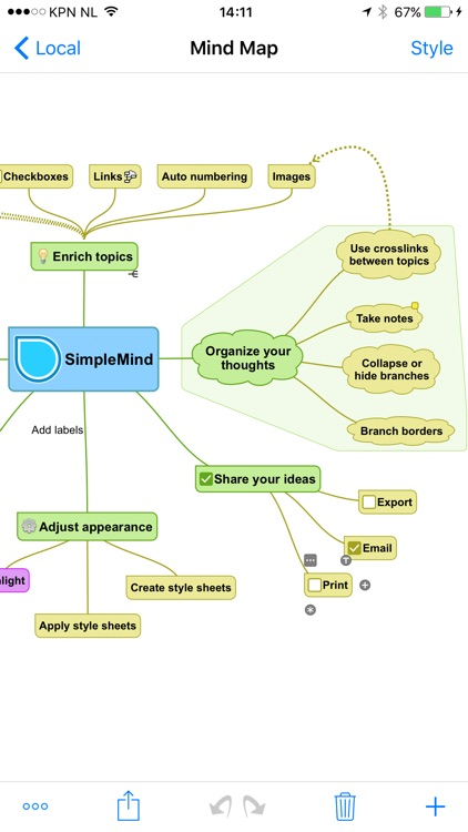 SimpleMind+ Intuitive Mind Mapping