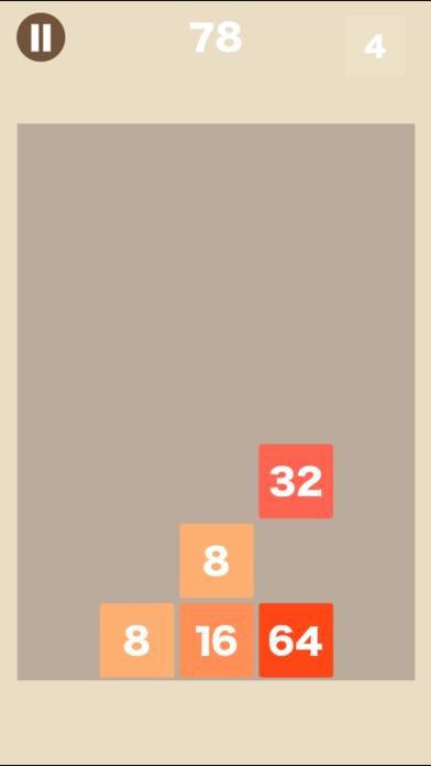 [大人の脳トレ] ブロック2048 脳トレ暇つぶしゲームのおすすめ画像1