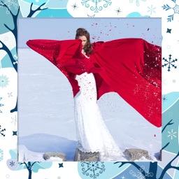 Santa Photo Frame - Art Photo frame
