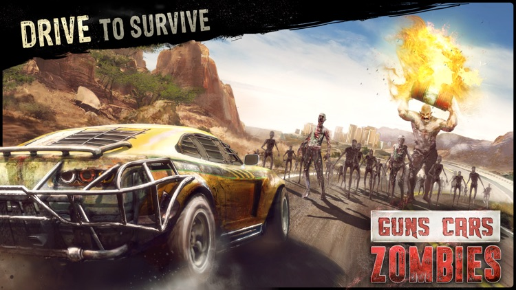 Guns, Cars and Zombies! screenshot-0
