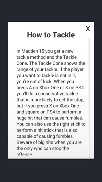 Cheats for Madden NFL 15-2