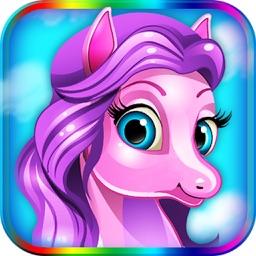 Pony Dress - Salon Pet Maker Games for Girls