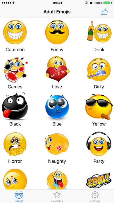 Adult Emojis Icons Pro - Naughty Emoji Faces Stickers Keyboard Emoticons for Textingのおすすめ画像3