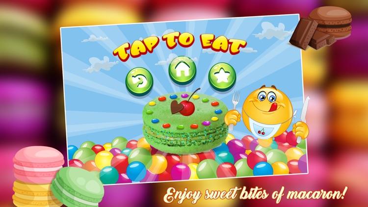 Macaron Cookies Maker 2 - Crazy Dessert Maker Game screenshot-3