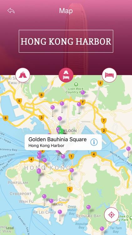 Hong Kong Harbor Travel Guide screenshot-3