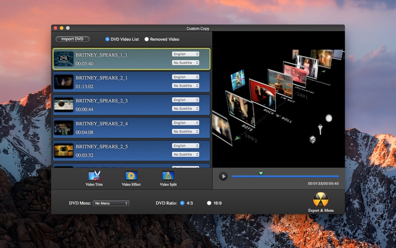 DVD Copy  Rebuild Pro Screenshot - 3
