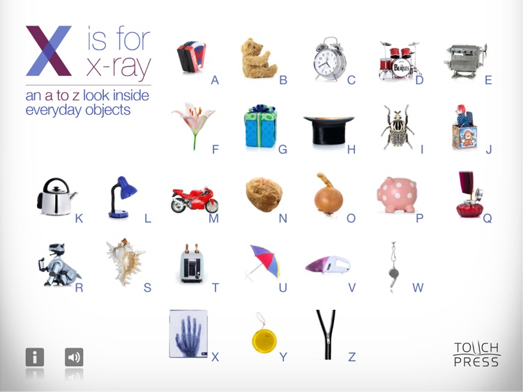 X is for X-Ray (iPad)
