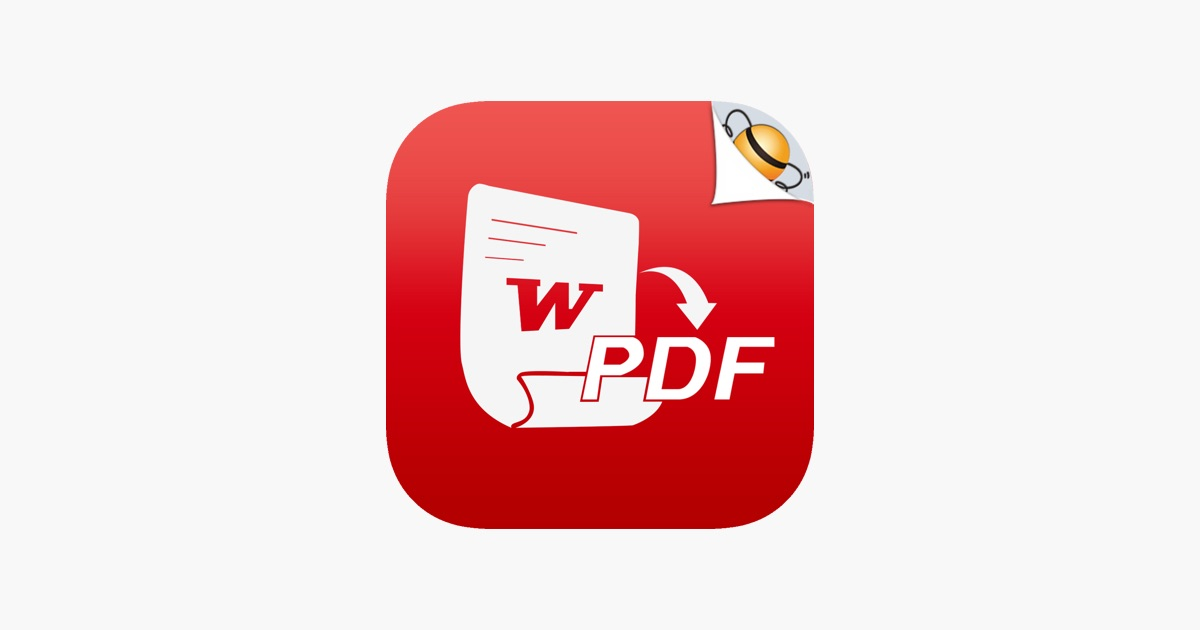 Word to PDF on the App