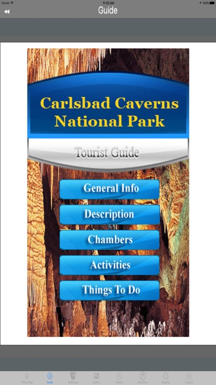 Carlsbad Caverns National Park - USA Tourist Guide