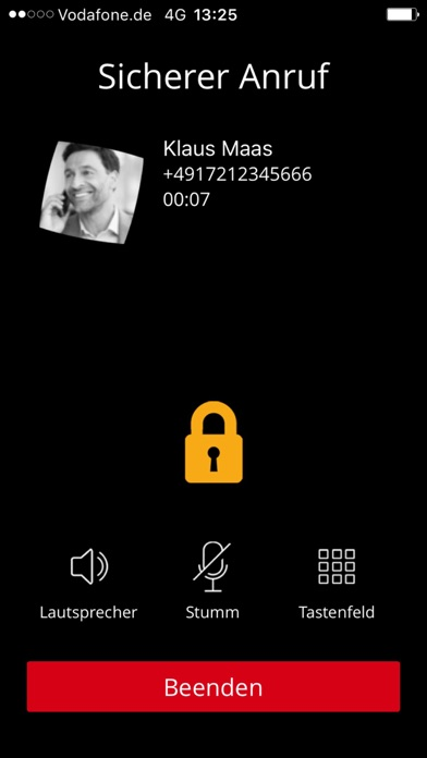 Vodafone Secure CallScreenshot von 2