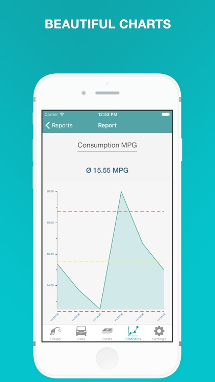 Fuel - Fuel Cost Calculator & MPG, Mileage Tracker