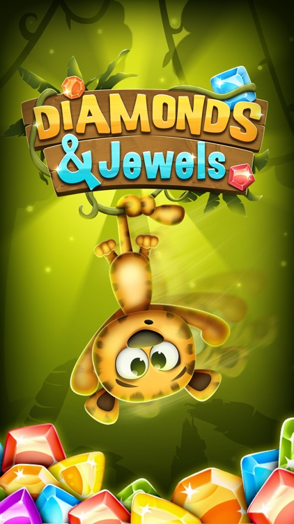 Diamonds and Jewels Match 3 Game - Matching Quest screenshot-4