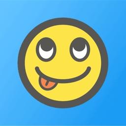 Colorful Emoji / Emoticon Stickers for iMessage