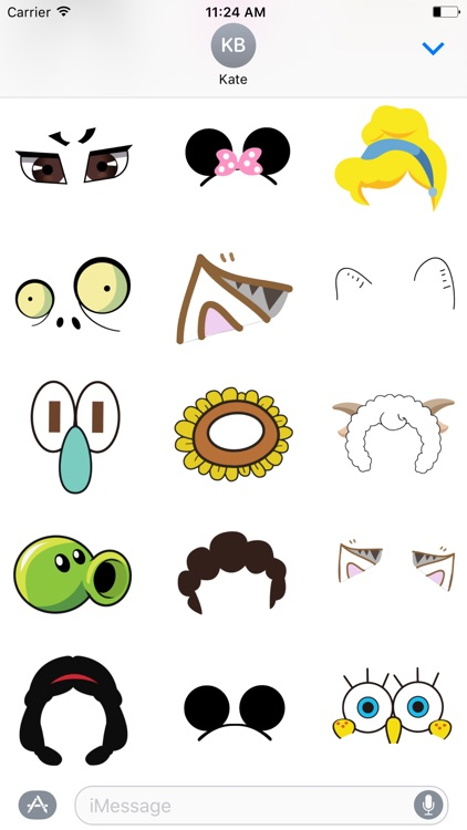 Costume Accessories Stickers Pack