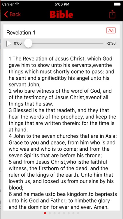 American Standard Version Bible (Audio) screenshot-3