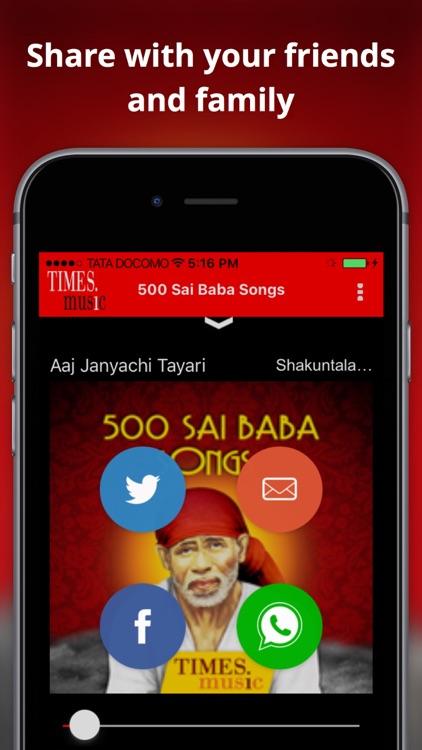 500 Sai Baba Songs screenshot-3