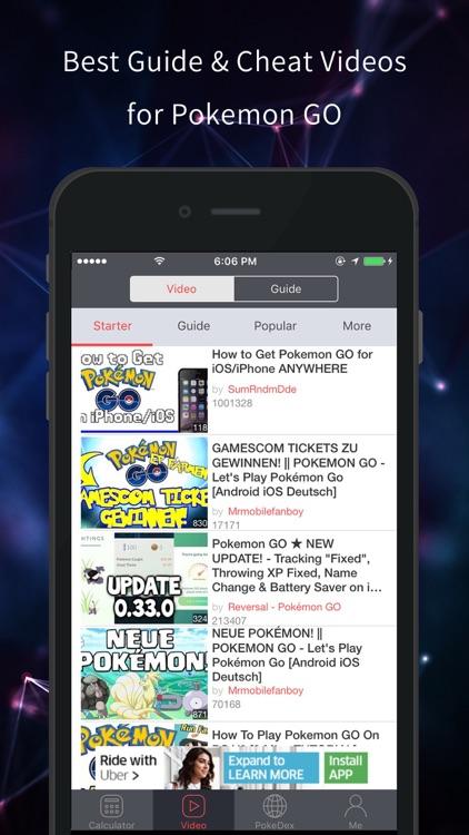 Poke Assistant - Ev & IVs Calculator for Pokemon GO