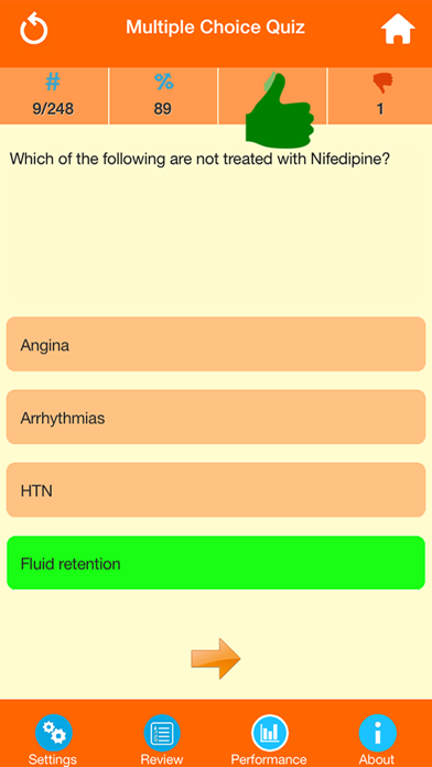Medical Science : Pharmacology Quiz screenshot two