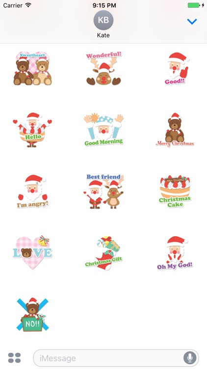 Santa Claus Animated Sticker screenshot-3