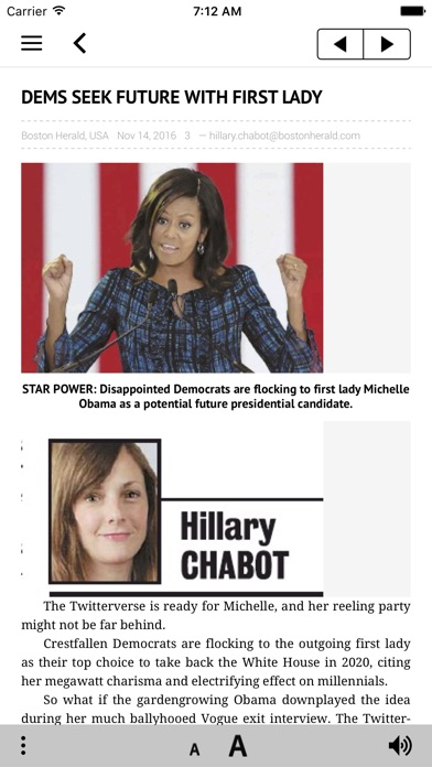 Boston Herald E Edition review screenshots
