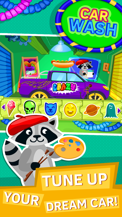 Car Wash Games for Kids and Toddlers. Premium screenshot four