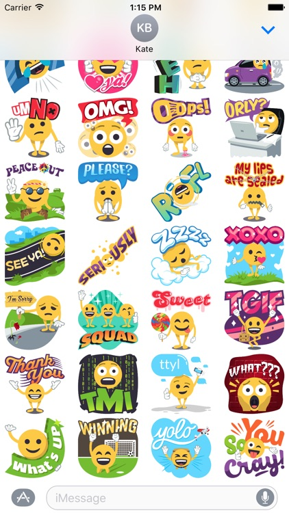 Emoji Guy: Emoji Stickers Inspired by EmojiOne