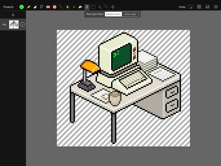 Pixen - pixel art editor screenshot-0