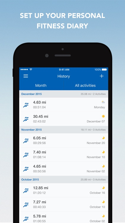 Runtastic Running, Jogging and Walking Tracker app image