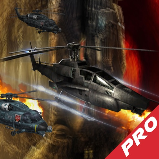 Combat Helicopter Driving Pro - A Copter Hypnotic X-treme Game icon