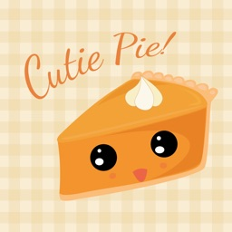 Cutie Pie Emoji - Thanksgiving Pumpkin Pie