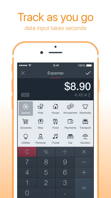 Saver – Personal Finance, Income & Expense tracker