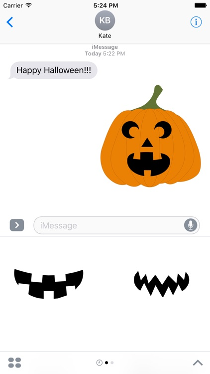 Pumpkin Carver Sticker Pack screenshot-2