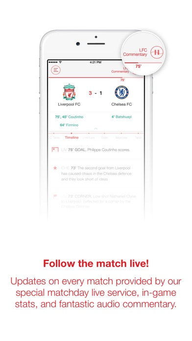 Screenshot for LFC Official App in Romania App Store
