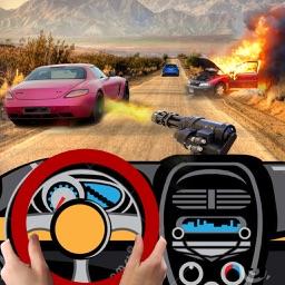 Gun Driver - Free 3D Street Sniper Shooting Games