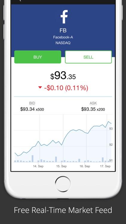 GetStocks - Stock Trading App