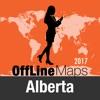 Alberta オフラインマップと旅行ガイド