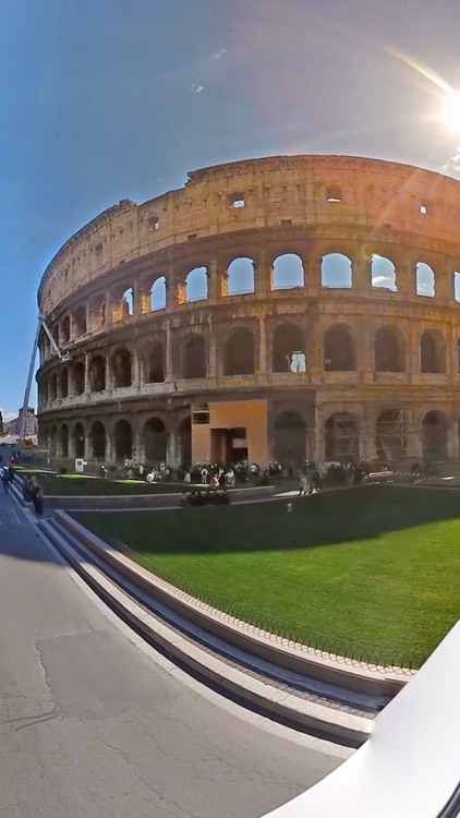 VR Rome Bus Tour Virtual Reality 360 screenshot-0